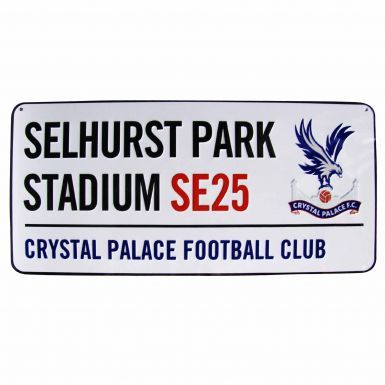 Crystal Palace Selhurst Park Street Sign