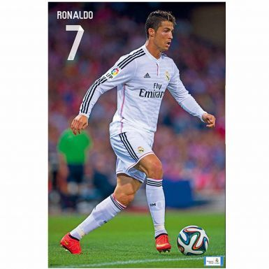 Cristiano Ronaldo & Real Madrid Poster