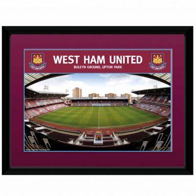 West Ham Utd Upton Park Stadium Print