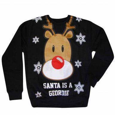 Newcastle Santa is a Geordie Sweatshirt