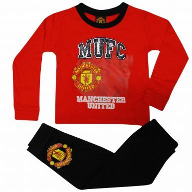Manchester Utd Crest Toddlers Pyjamas