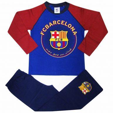 FC Barcelona Crest Kids Pyjamas