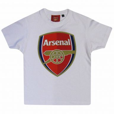 Arsenal FC Crest Kids T-Shirt