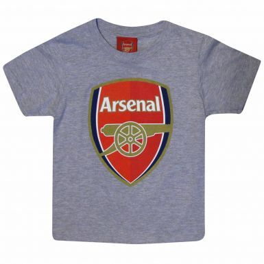 Arsenal FC Crest Kids T-Shirt for Casual Wear