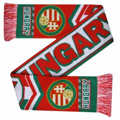 Hungary 2016 Euros Football Scarf