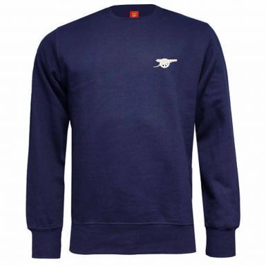 Adults Arsenal FC Cannon Crest Sweatshirt