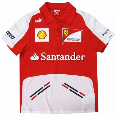 F1 Scuderia Ferrari Kids Polo Shirt by Puma