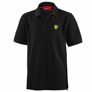 Classic F1 Scuderia Ferrari Kids Polo Shirt by Puma