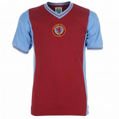 Aston Villa 1982 Retro Shirt