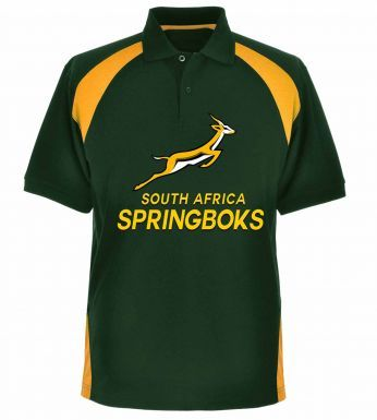South Africa Springboks Rugby Polo Shirt for Kids