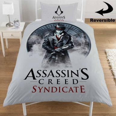 Assassins Creed Syndicate Single Bed Duvet Cover Set