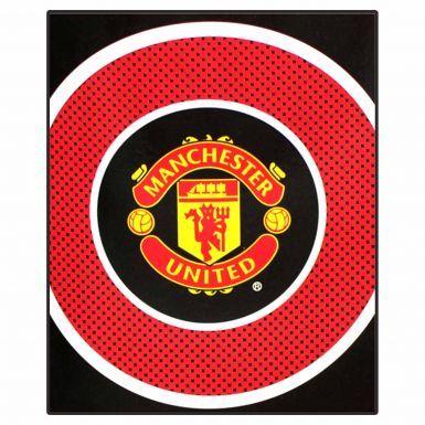 Manchester Utd Fleece Blanket