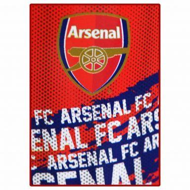 Arsenal FC Fleece Blanket Throw