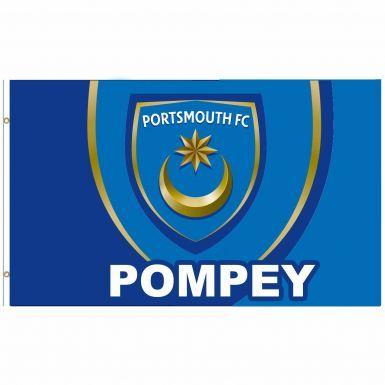 Giant Portsmouth FC Crest Flag