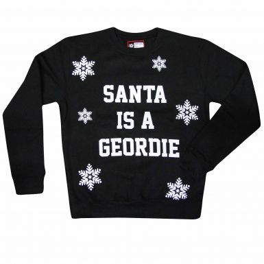 Unisex Newcastle Santa is a Geordie Sweatshirt