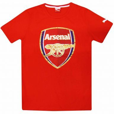 Arsenal FC Crest Football T-Shirt by Puma