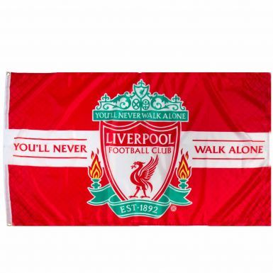 Liverpool FC Crest YNWA Flag