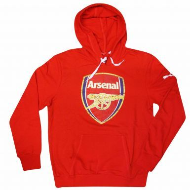 (PUMA) Arsenal FC Crest Hoodie