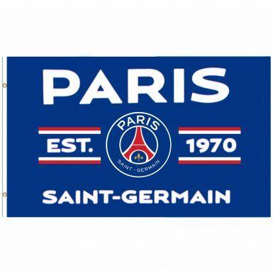 Giant Paris St Germain PSG Crest Flag