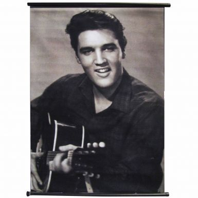 Giant Elvis Presley Portrait Banner