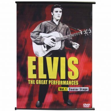 Giant Elvis Presley Rock & Roll Legend Banner