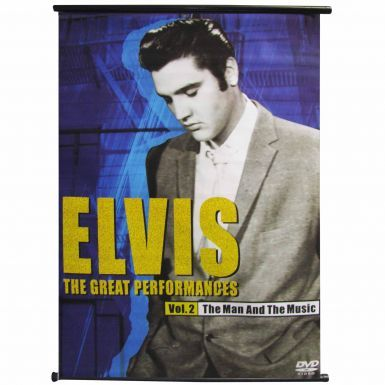 Giant Elvis Presley Music Legend Banner