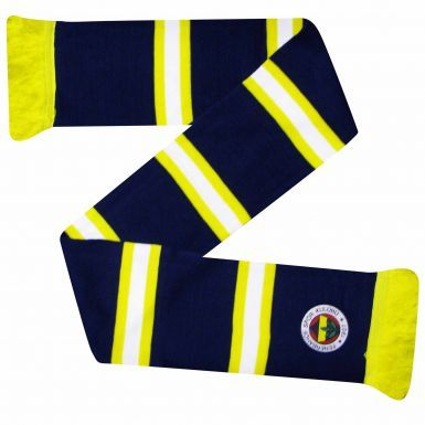 Official Fenerbahce S.K. Crest Bar Scarf