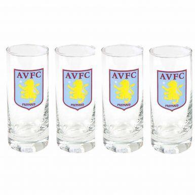 Aston Villa Crest Shot Glasses