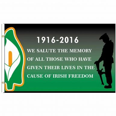 Giant Irish Rebellion 1916-2016 Centenary  Flag