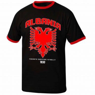 Albania Football Crest T-Shirt