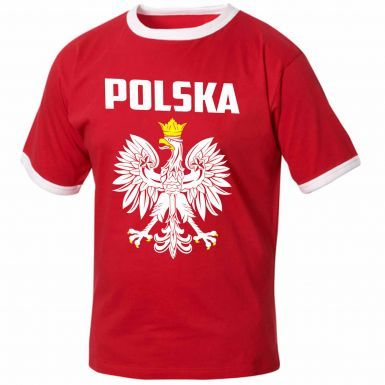 Poland (POLSKA) Football T-Shirt