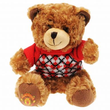 Manchester Utd Fluffy Teddy Bear