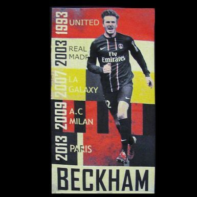 David Beckham Football Career Retro T-Shirt