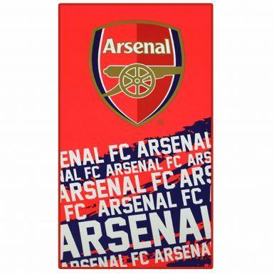Arsenal FC Impact Crest Towel