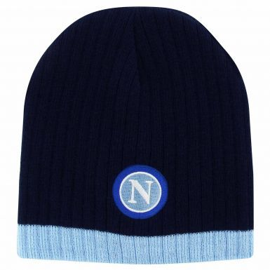 SSC Napoli Crest Beanie Hat