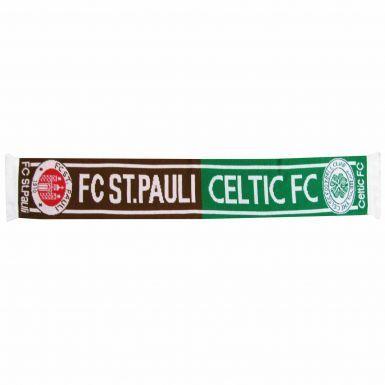 Celtic FC & St Pauli Football Friendship Scarf