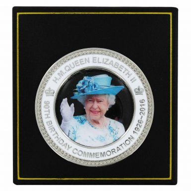 Queen Elizabeth II 90th Birthday Souvenir Coin