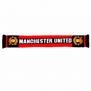 Manchester United Crest Scarf