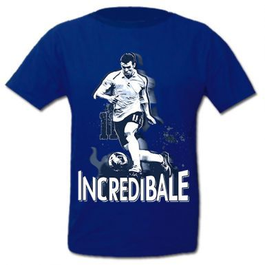 Kids Real Madrid & Gareth Bale Hero T-Shirt