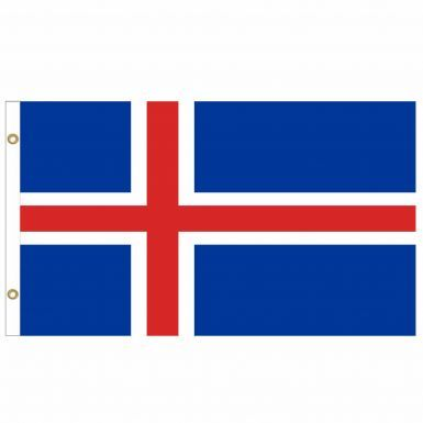 Giant Iceland National Flag