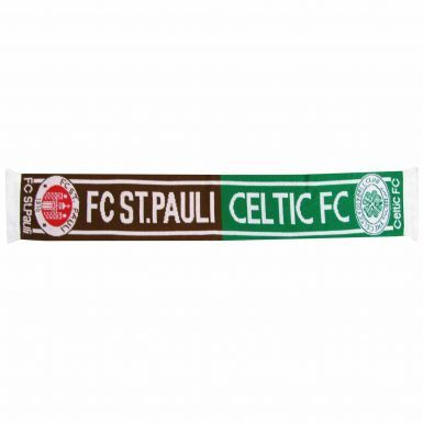 Celtic FC & St Pauli Football Friendship Scarf