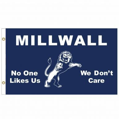 Giant Millwall Lions No One Likes Us Flag