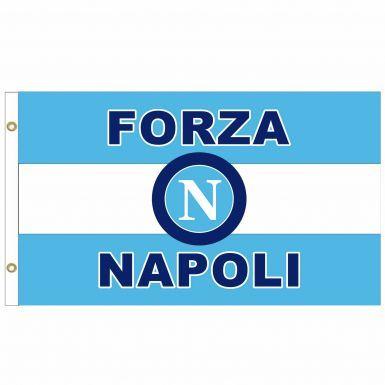 SSC Napoli Crest Flag
