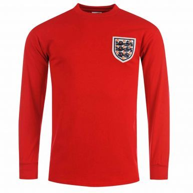 England 1966 WC Winners Retro Shirt by Scoredraw