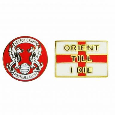 Leyton Orient Football Badge Set