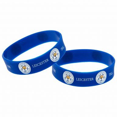 Official Leicester City Till I Die Wristbands