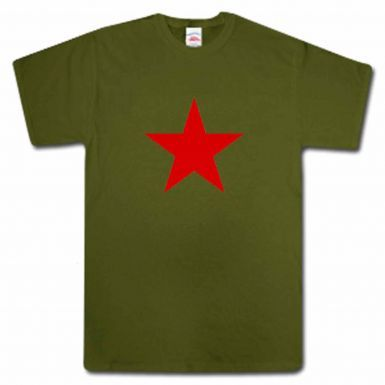 Army Style Red Star T-Shirt