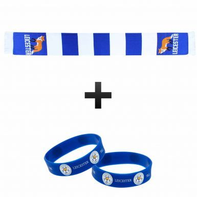 Leicester City Scarf & Wristband Gift Set