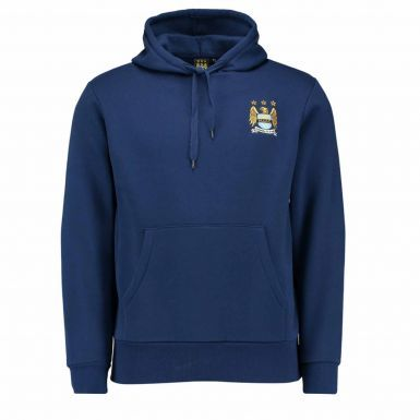 Official Manchester City Crest Hoodie