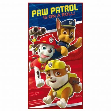 Kids Paw Patrol Cartoon Towel